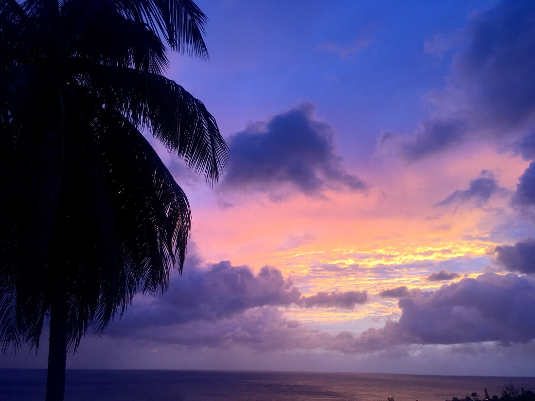 Sunset the night before Irma hit